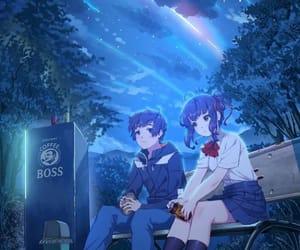 anime, kimi no na wa, and movie image