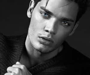 dominic sherwood, shadowhunters, and eyes image