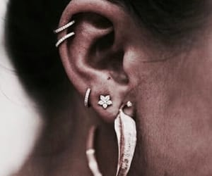 earrings, jewelry, and style image