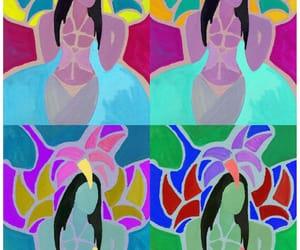 bailarinas, carnaval, and illustrazione image