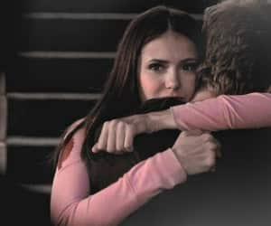 Vampire Diaries, elena gilbert, and stefan salvatore image