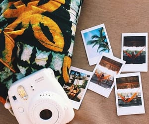 summer, photo, and polaroid image