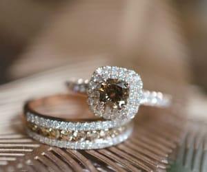 engagement rings, diamond rings, and wedding rings image
