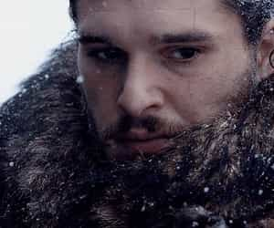 game of thrones, jon snow, and king of the north image