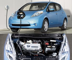 nissan leaf, zero-emissions, and leaf electric image