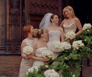 bridesmaids, Carrie Bradshaw, and sex and the city image