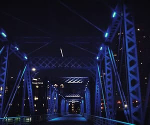 blue, photography, and lights image