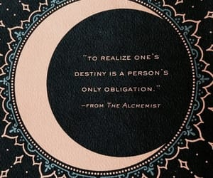 quotes, alchemist, and book image