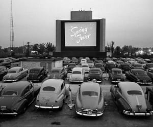 car, vintage, and cinema image