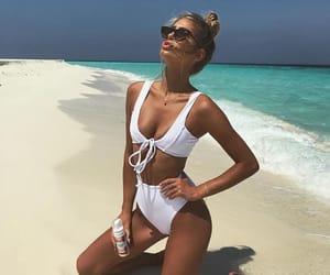 bikini, goals, and summer image