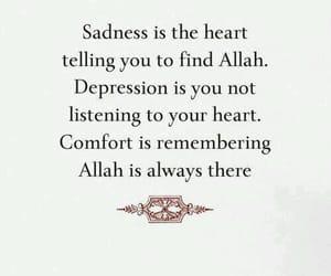 islam, allah, and sadness image