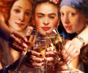 arte, cheers, and Frida image