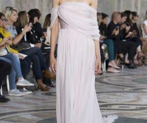 designer, dress, and fall image