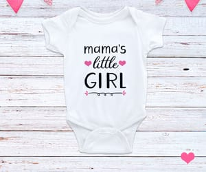 baby girl, baby outfit, and children image