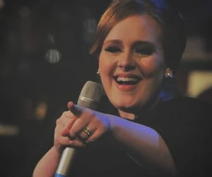 Adele, red, and daydreamer image