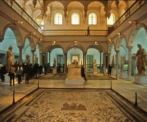 museum, statue, and tunisia image