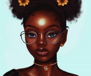 art, drawing, and black art image