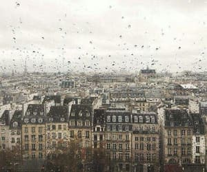 paris, rain, and street image