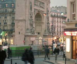 arc de triomphe, beautiful, and photography image