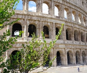 colosseum, italy, and photography image