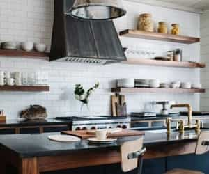 books, home, and interior design image