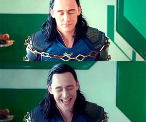 gif, loki, and tom hiddleston image