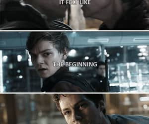 maze runner, death cure, and newtmas image