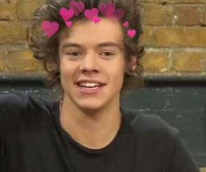 heart icon, Harry Styles, and one direction image