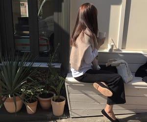 asian fashion, girls, and korean girl image