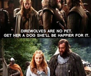 game of thrones, dog, and direwolf image
