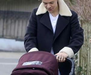 Harry Styles, baby, and style image