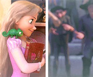 gif, disney, and rapunzel image