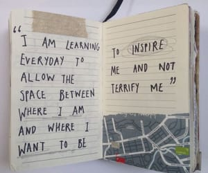 quotes, journal, and inspiration image
