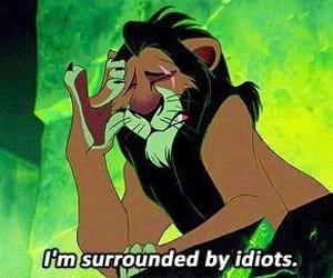 idiot, disney, and scar image