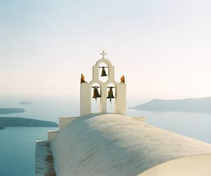 architecture, Greece, and nature image