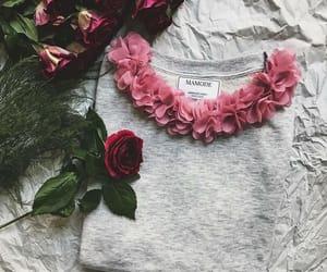 chiffon, mauve, and petals image