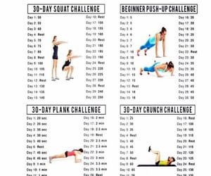 workout, challenge, and fitness image