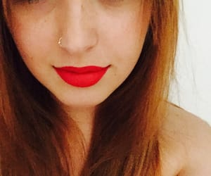 smile, ❤, and rossetto rosso image