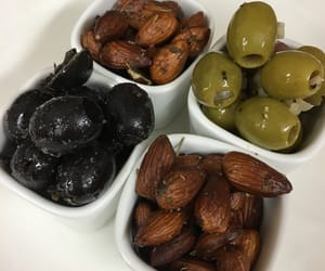 almonds, eat, and food image