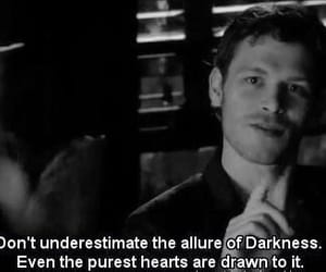 klaus, quotes, and Darkness image