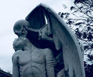 grunge, art, and death image