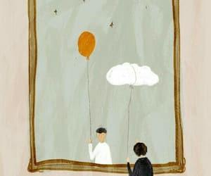 aesthetic, art, and balloon image
