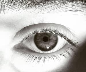 alone, art, and eyes image