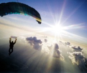 sky and skydive image