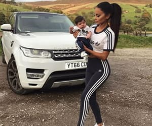 baby, adidas, and car image