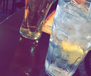 beer, dinner, and drinks image