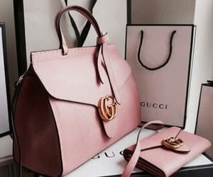 gucci, bag, and pink image
