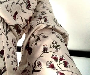 fashion, flower, and pants image