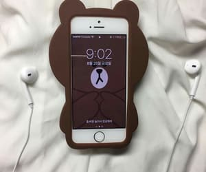 aesthetic, bear, and brown image