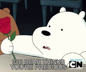 ice bear, love, and we bare bears image